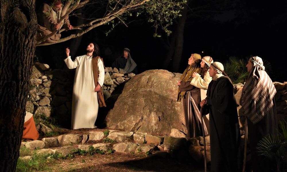 A Trapani, l'unico presepe vivente che racconta la Bibbia